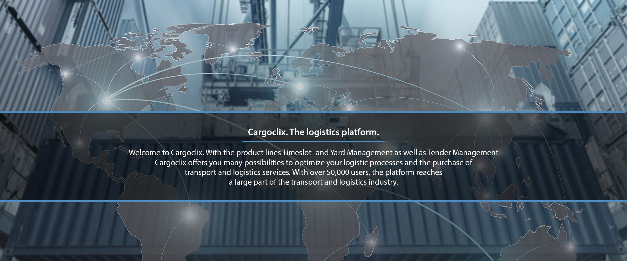 Tendering Platform and Time Slot Management System I Cargoclix