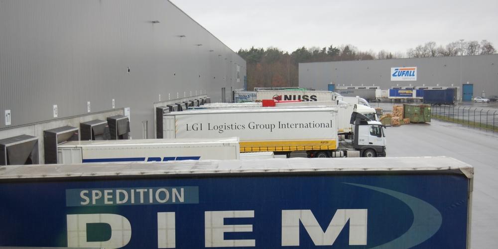 Am Standort Kandel setzt die Zufall logistics group seit zehn Jahren auf SLOT – der Stau an der Rampe ist Geschichte.